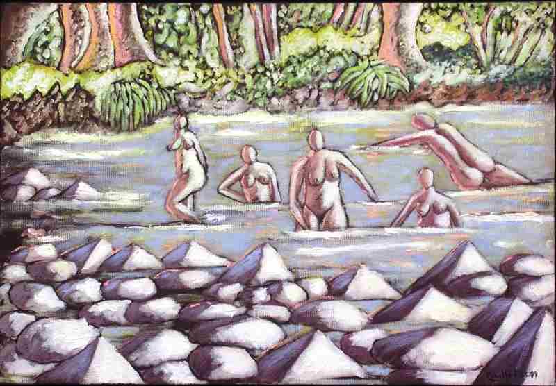 Au bord de la rivière